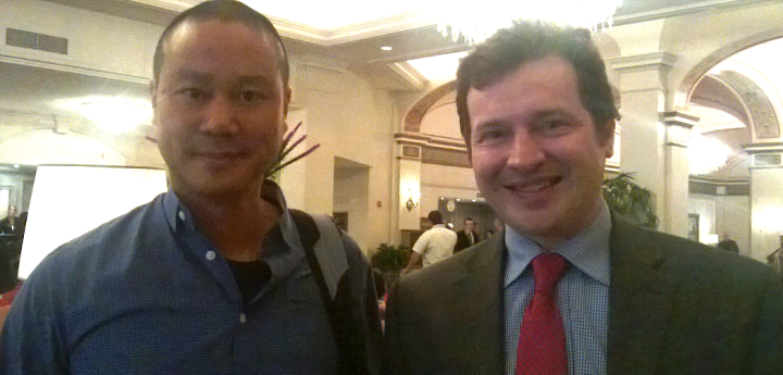 Met with Tony Hsieh, Zappos CEO in DC @ US Chamber Small Business Summit